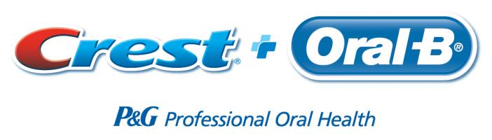 crest oral b logo. P&G professional oral health